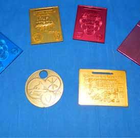 Medalha Anodisadas