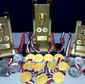 BoxeTroféus e Medalhas